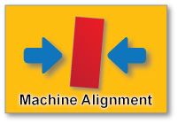 Machine Alignment for Continous Casters